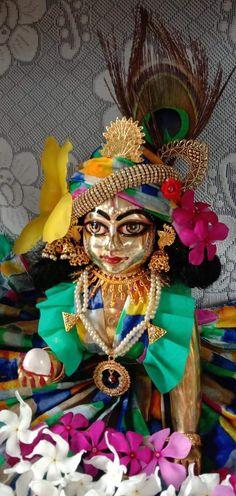Laddu Gopal Dresses, Deities, Krishna, Wreaths, Halloween, Fictional Characters, Decor, Art, Art Background