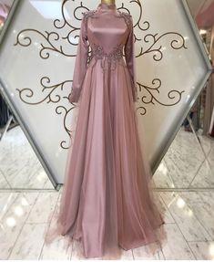 Dress Long Formal Open Backs - Dress Muslimah Wedding Dress, Muslim Wedding Dresses, Evening Dresses For Weddings, Bridesmaid Dresses, Dress Wedding, Hijab Gown, Hijab Evening Dress, Hijab Dress Party, Modest Dresses