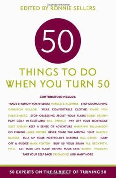 Know someone turning 50 this year, think of it as Fabulous 50, Nifty 50, and NOT over the hill.
