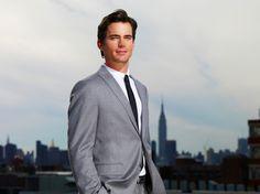 in GREY suit