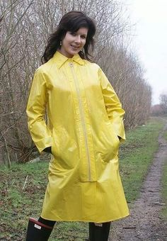 Vinyl Raincoat, Plastic Raincoat, Pvc Raincoat, Yellow Raincoat, Raincoat Jacket, Rain Jacket, Lorraine, Parka, Girls Wear