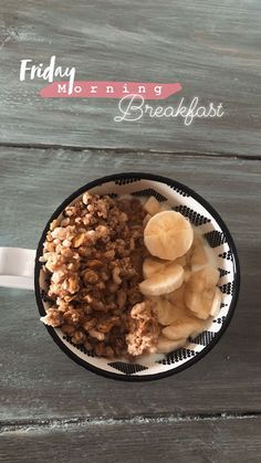 oats and banana breakfast bowl. clean and healthy eating. Creative Instagram Stories, Instagram Story Ideas, Food Instagram, Insta Snap, Insta Photo Ideas, Photo Tips, Aesthetic Food, Insta Story, Ig Story