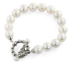 Vault Values - SS Cultured Pearl Bracelet, 10490235