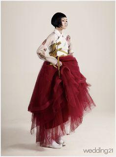 """""""한복 Hanbok : Korean traditional clothes[dress]"""