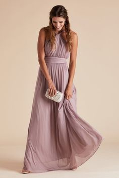Kiko Dress - Mauve Muave Bridesmaid Dresses 98122dccd