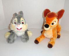 Disney Store BAMBI Plush Toy Set Thumper #Disney #toys