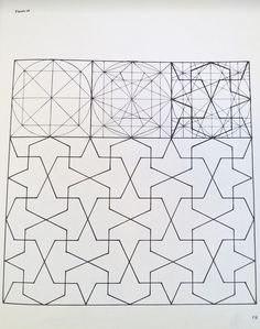 Geometric Concepts in Islamic Art – 33 fotografías Geometric Drawing, Geometric Art, Geometric Designs, Tessellation Patterns, Blackwork Patterns, Islamic Art Pattern, Pattern Art, Motifs Islamiques, Entry Way Design