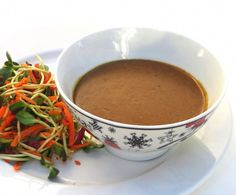 paleo thai no-peanut sauce ( i just made this and its delicious. I left out the sweetener and added crushed chili flakes and extra garlic)