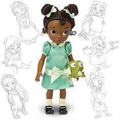 Disney Princess Animators Collection Doll Figure Tiana Dolls for sale online Walt Disney, Disney Family, Disney Love, Disney Stuff, Disney Princess Toddler Dolls, Disney Dolls, Princess Tiana, Baby Princess, Disney Stores