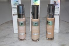 IT Cosmetics Your Skin But Better Foundation + Skincare Review It Cosmetics Cc Cream, It Cosmetics Foundation, Best Foundation, Best Beauty Advent Calendar, Light Shades, Good Skin, Best Makeup Products, Swatch
