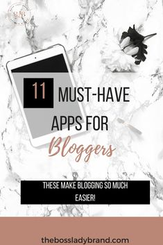 If you are a new blogger, you need these apps to help keep you organized! These 11 new blogger apps have helped me stay focused and have just helped make my life easier. Are you ready to use these life-changing apps? #bloggingtips #bloggingforbeginners #startingablog