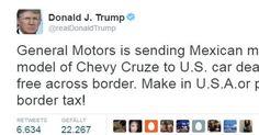 Aktuell! CES und Detroit Auto Show 2017 - Trump twittert - Autoindustrie in Aufruhr: Ford stoppt Fabrikbau in Mexiko - http://ift.tt/2iGRiIo #nachricht