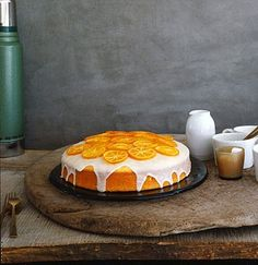 Clementine Cake, after The Secret Life of Walter Mitty