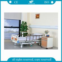 AG-BMY001 CE ISO china manufacturer 3 function hydraulic hospital bed