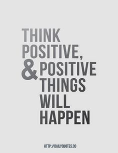 They Will Happen..Positive Inspirational Quotes