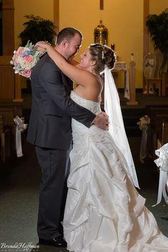 A & L - A Beautiful Bride, Handsome Groom - Perfect Wedding - Brenda Hoffman Photography
