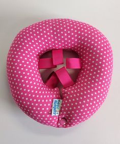 Hot Pink Dots Cushioned Pet Safety Collar