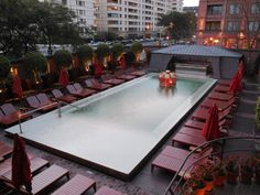 Philippe Starck's landmark in South America, Faena Hotel in Buenos Aires (Argentina)