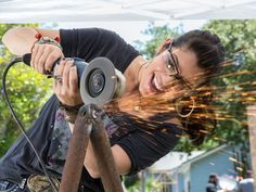 Sparks are flying at Blog Cabin this year!