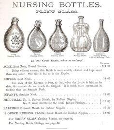 Antique Baby Bottles