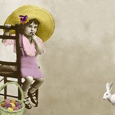 My free animated Easter Cards are ready for you to grab and send photo hhpeasterhat. E Cards, Greeting Cards, Monthly Quotes, Just Magic, Happy Easter, Gifs, Bunny, Animation, Spring