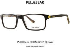 Pull&Bear PBG1762 C1 Brown Pull, Wayfarer, Eyewear, Bear, Sunglasses, Brown, Style, Swag, Eyeglasses