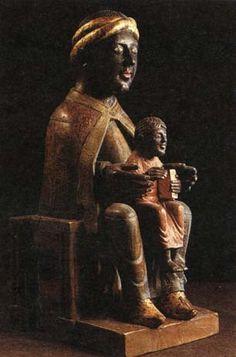 Vierge noire de Meymac (XIIè)