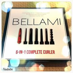 Bellami 6-in-1 Curler, use coupon code from Jaclyn Hill, jaclyn160, for $160.00 off retail price!!!!