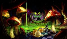 Epic Mickey concept art<<<<<  Man, I wish they kept this!