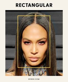 Rectangle face shape, long and slightly narrow hollowed cheeks and prominent cheekbones. Long Face Shapes, Long Faces, Eye Shapes, Eyebrow Shapes, Oval Faces, Square Faces, Oblong Face Hairstyles, Rectangular Face Hairstyles, Layered Hairstyles