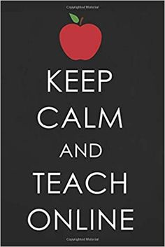 Keep Calm and Teach Online: Inspirational Quote for Teachers and Coworkers, Teaching Online Appreciation Gift Journal with Red Apple Teachers Day Gifts, Thank You Teacher Gifts, Your Teacher, Teacher Stuff, Teacher Appreciation Quotes, Teacher Memes, Appreciation Gifts, Teach Online, Country Music Quotes