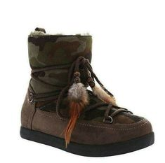 Ladies Womens Casual Flat Camouflage Cosy Ankle Boots Faux Suede UK 4 5 6 Winter #Unbranded #WinterBoots #CasualOutdoor Winter Boots, Cosy, Camouflage, Online Price, Ankle Boots, Flats, Best Deals, Casual, Shoes
