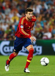Gerard Pique (defense) of Spain.