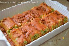 Lasagnoni ripieni con ricotta e broccoli | Vorrei diventare una brava cuoca....