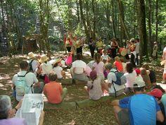 """Journée """"Enfant Sauvage"""" en juillet à Lacaune. http://www.tourisme-montsdelacaune.com"""