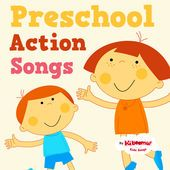 Preschool Action Songs - all new songs from The Kiboomers!  #preschool #kidsongs