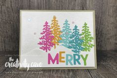Xmas Cards, Holiday Cards, Greeting Cards, Christmas Makes, 12 Days Of Christmas, Wink Of Stella, Stampin Up Cards, Cool Things To Make, I Card