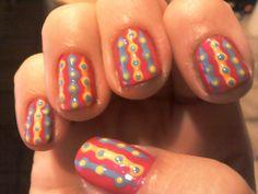 Nailpolish is My Crack: Beach ball nails!