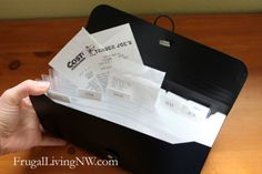 Easy ways to reduce and organize household paper - Frugal Living NW