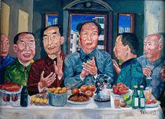Liu Wei - Last Supper, 1993