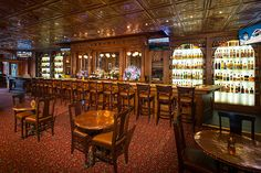 Best Hotel Bars in The World -  Cascades #Whiskey Bar at The Stanley Hotel. Estes Park, Colorado. @Refinery29