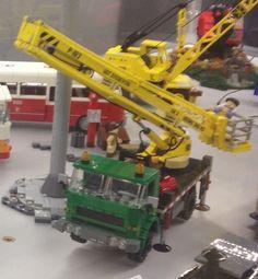 Lego Star dźwig Lego Crane, Lego Truck, Lego Creations, Lego Star, Legos, Nerf, Trucks, Toys, Activity Toys