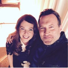 """Well, it's nine years later and Luke Danes himself, Scott Patterson, posted this selfie with Lauren Graham after wrapping the revival, Gilmore Girls: Seasons! 