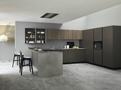 Fitted kitchen ARIEL 04 by Cesar Arredamenti | design Gian Vittorio Plazzogna