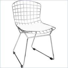 ZUO Baby Wire Modern Kids Chair in Chrome - 105160