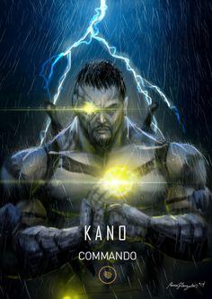 Mortak Kombat X Kano Commando by Grapiqkad on DeviantArt