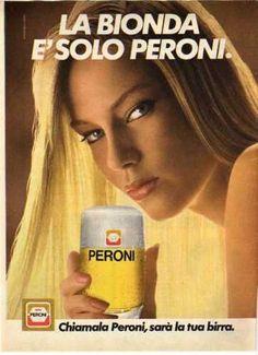 X1 Pubblicità Advertising 1981 Peroni birra
