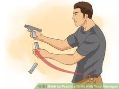 Image titled Practice Drills with Your Handgun Step 2