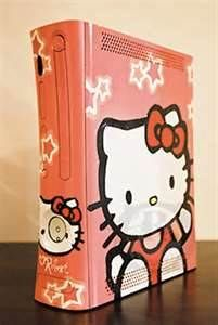 Hello Kitty Xbox. Awesome!