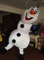 Online Shop Frozen Snowman Olaf Mascot Costume High Quality Olaf mascot costume Adult Size School Mascot Fancy Dress Costumes|Aliexpress Mobile